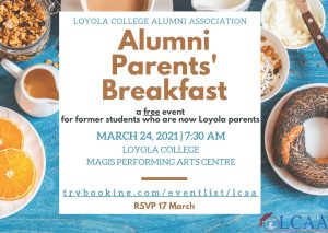 Alumni Parents' Breakfast
